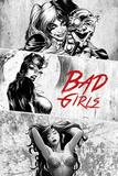 DC Comics - Badgirls Kunstdrucke