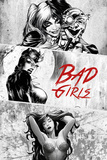 DC Comics - Badgirls Póster