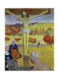 Yellow Christ, 1889 Impression giclée par Paul Gauguin