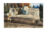 An Exedra, 1871 Giclee Print by Sir Lawrence Alma-Tadema