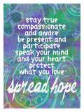 Spread Hope Giclee Print by Lisa Weedn
