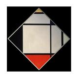 Rhombus II Prints by Piet Mondrian