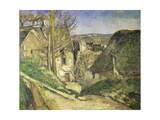 La Maison Du Pendu (Auvers-Sur-Oise), 1873 Giclee Print by Paul Cézanne