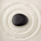 Zen Pebble Photographic Print
