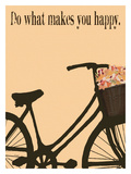 Do What Makes You Happy Giclee Print by Lisa Weedn
