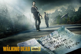 Walking Dead - Rick & Daryl Road Planscher