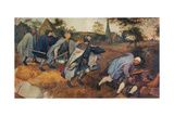 Parable of the Blind Leading the Blind, 1568 Giclee Print by Pieter Bruegel the Elder
