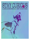 Stay Curious Wydruk giclee autor Lisa Weedn