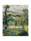 Village Behind Trees, Ile De France (Village Derriere Les Arbres, Ile De France), C. 1879 Giclee Print by Paul Chabas