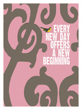 Every Day (Pink) Giclee Print by Lisa Weedn