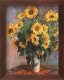 Girasoles Pósters por Claude Monet