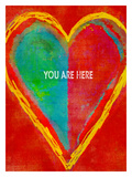 You Are Here Giclee Print by Lisa Weedn