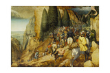 Conversion of St, Paul, 1567 Giclee Print by Pieter Bruegel the Elder