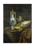 Still Life with Delft Vase and Bowl Giclee Print by Willem Kalf