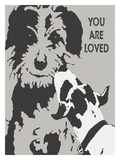 You Are Loved Giclee Print by Lisa Weedn