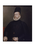 Portrait of Philipp II, of Spain, Ca, 1580 Giclee Print by Stephan Lochner