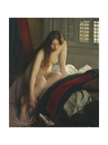 The Slipper Giclee Print by William McGregor Paxton