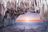 Ice Cave - Horizon Posters