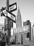 Broadway Fotografisk tryk