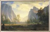 Blick auf das Yosemite-Tal Kunstdrucke von Albert Bierstadt