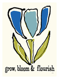 Grow, Bloom & Flourish Giclee Print by Lisa Weedn