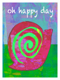Oh Happy Day Giclee Print by Lisa Weedn