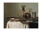 Breakfast Still Life Giclee Print by Willem Claesz Heda