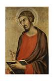 St. Luke Giclée-tryk af Simone Martini