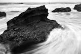 Beach Rocks Photographic Print