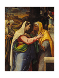 The Visitation, 1519-21 Art by Sebastien Bourdon