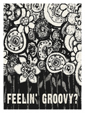 Feelin Groovy Giclee Print by Lisa Weedn