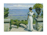 On the Terrace, 1912 Giclee Print by Paul Fischer