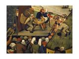 Die Ehebrecher, Ausschnitt Aus Einem Gemaelde 'Doerfliches Fest' Giclee Print by Pieter Brueghel the Younger