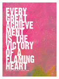 Every Great Achievement Giclee Print by Lisa Weedn