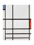 Composition Ii,, 1937 Giclee-trykk av Piet Mondrian