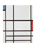 Composition Ii,, 1937 Poster by Piet Mondrian