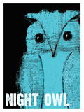 Night Owl Giclee Print by Lisa Weedn