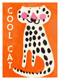 Cool Cat Giclee Print by Lisa Weedn