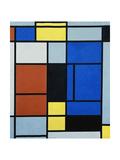 Tableau No, 1, 1921-25 Giclée-trykk av Piet Mondrian