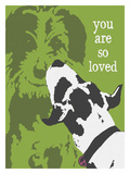 You Are So Very Loved Giclee Print by Lisa Weedn