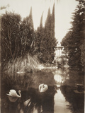 Palermo: in the Park of the Villa Tasca, 1895 Photographic Print by Wilhelm Von Gloeden