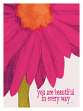 You Are Beautiful Giclee Print by Lisa Weedn