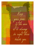 Keep Your Face To The Sun Giclee Print by Lisa Weedn