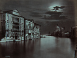 Venezia: Canal Grande, No, 11, 1870-80 Fotografisk tryk af Carlo Maratti