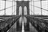Pont de Brooklyn, New York Reproduction photographique par  PhotoINC