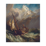 On the Dogger Bank Giclee Print by William Clarkson Stanfield