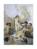 The Birth of Venus, 1879 Giclee Print by William Adolphe Bouguereau