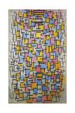 Composition, 1916 Reproduction procédé giclée par Piet Mondrian