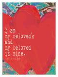 Beloved Giclee Print by Lisa Weedn