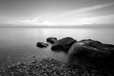 Rocks on Beach Photographic Print by  PhotoINC